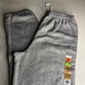 Hanes EcoSmart Mens Cinch Leg Sweatpant Light Gray